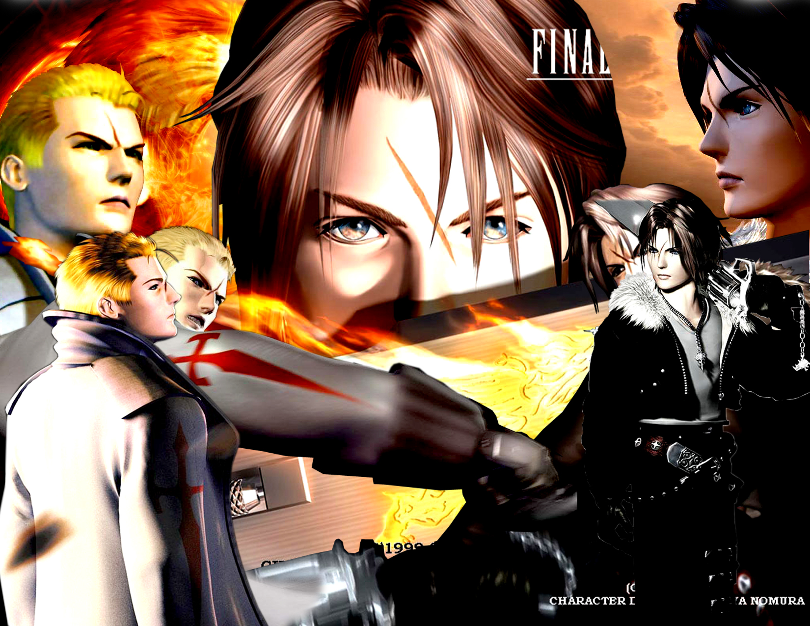 Final Fantasy VII Cut-Outs