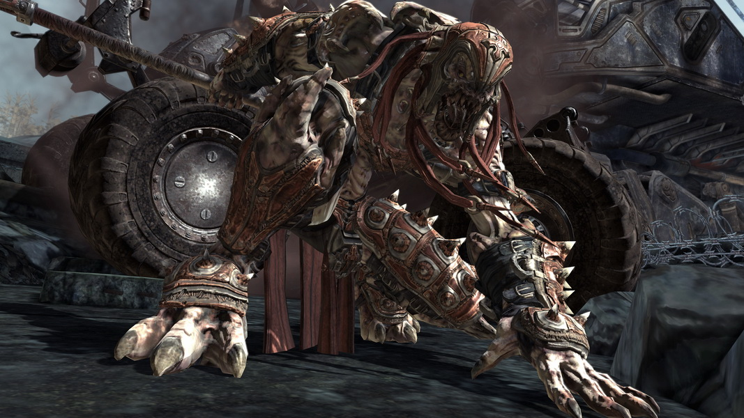 Gears of War 2 Skorge