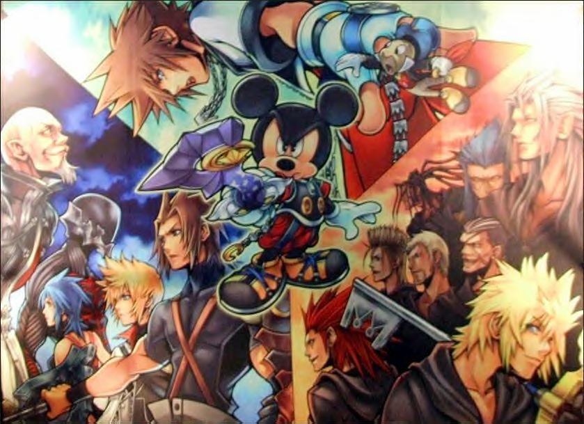 Future of Kingdom Hearts Artwork